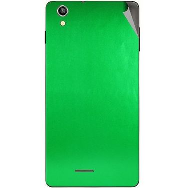 Snooky 44500 Mobile Skin Sticker For Xolo A1010 - Green