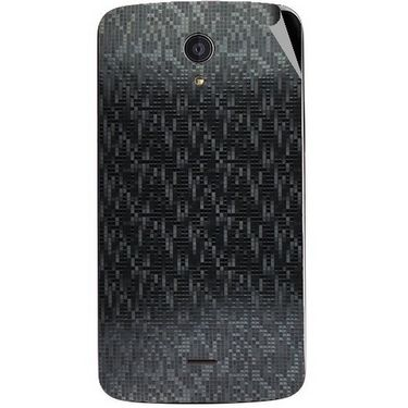 Snooky 44520 Mobile Skin Sticker For Xolo Omega 5.5 - Black