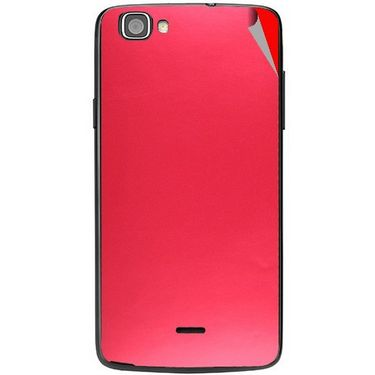 Snooky 44530 Mobile Skin Sticker For Xolo One - Red