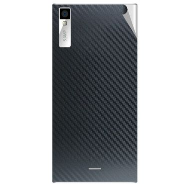 Snooky 44551 Mobile Skin Sticker For Xolo Q600s - Black