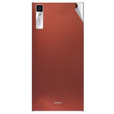 Snooky 44555 Mobile Skin Sticker For Xolo Q600s - Copper