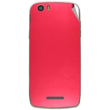Snooky 44590 Mobile Skin Sticker For Xolo Q700s - Red