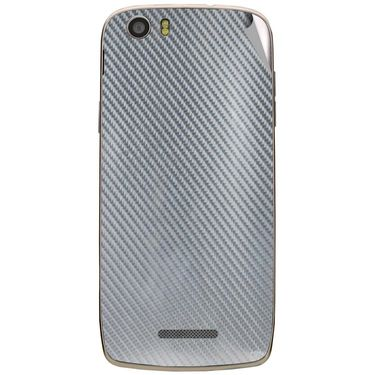 Snooky 44598 Mobile Skin Sticker For Xolo Q700s - silver