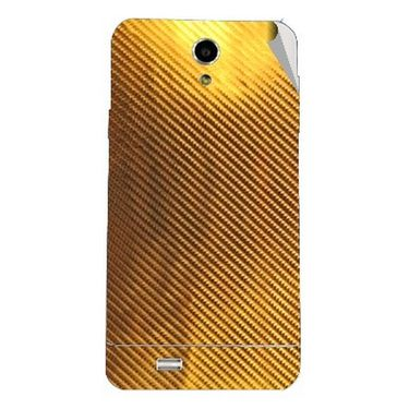 Snooky 44613 Mobile Skin Sticker For Xolo Q900   Golden available at Naaptol for Rs.299
