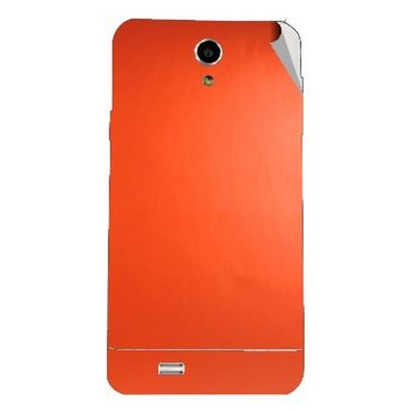 Snooky 44618 Mobile Skin Sticker For Xolo Q900 - Orange