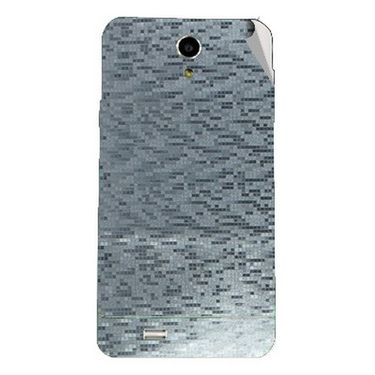 Snooky 44621 Mobile Skin Sticker For Xolo Q900   silver available at Naaptol for Rs.299