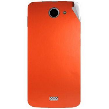 Snooky 44642 Mobile Skin Sticker For Xolo Q1000 - Orange