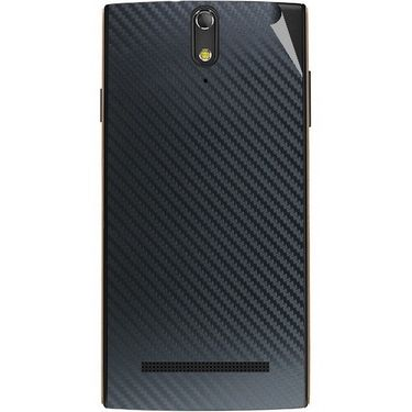Snooky 44671 Mobile Skin Sticker For Xolo Q1020 - Black