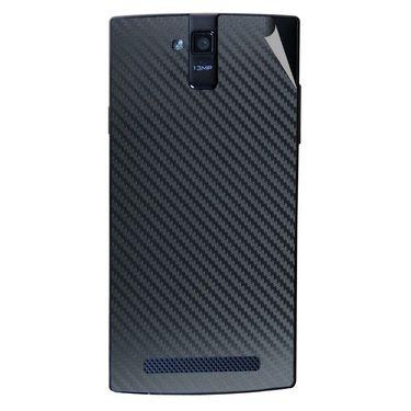 Snooky 44683 Mobile Skin Sticker For Xolo Q2000 - Black