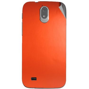 Snooky 44726 Mobile Skin Sticker For Xolo Play T1000 - Orange