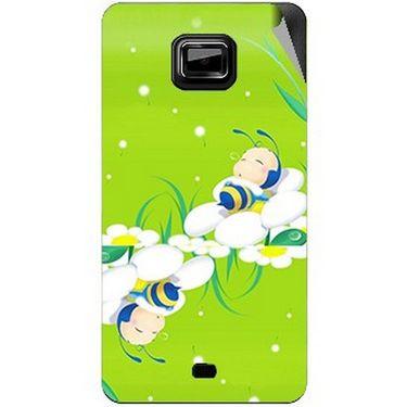 Snooky 46107 Digital Print Mobile Skin Sticker For Micromax Ninja A91 - Green