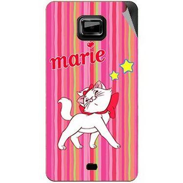 Snooky 46113 Digital Print Mobile Skin Sticker For Micromax Ninja A91 - Pink