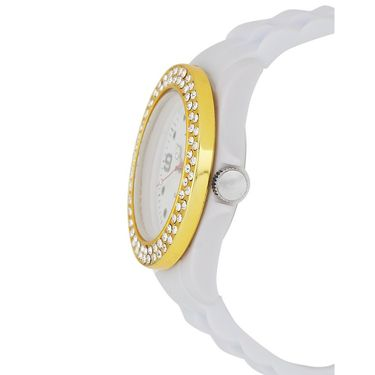 Chappin & Nellson Analog Round Dial Watch For Women_Cnp1w38 - White