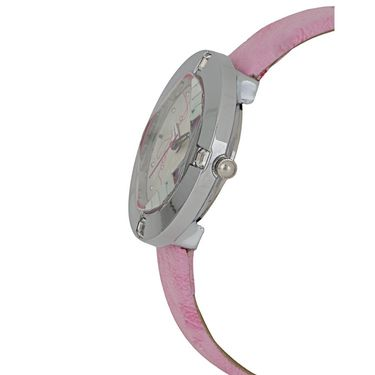 Exotica Fashions Analog Round Dial Watch For Women_Efl29w7 - Pink