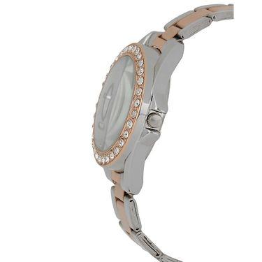 Exotica Fashions Analog Round Dial Watch For Women_EflSTw15 - White