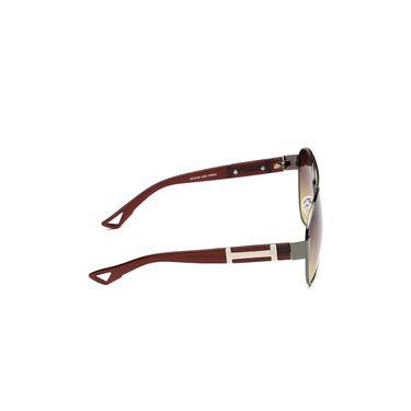 Alee Metal Oval Unisex Sunglasses_135 - Green