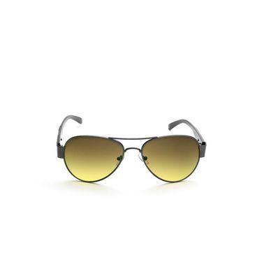 Alee Metal Oval Unisex Sunglasses_169 - Green