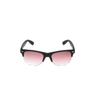 Alee Metal Oval Unisex Sunglasses_183 - Pink