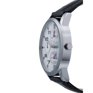 Rico Sordi Analog Round Dial Watch_Rwl46 - White
