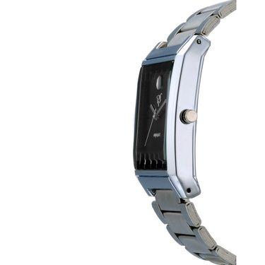 Rico Sordi Analog Square Dial Watch_Rws60 - Black