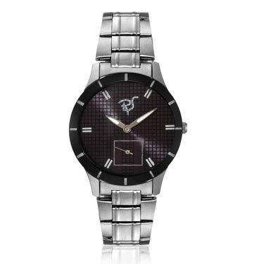 Rico Sordi Analog Round Dial Watch_Rws66 - Black