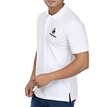 Combo of Plain Regular Fit Cotton Lower + Tshirt + Socks_Fl2wt02