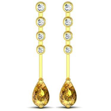 Ag Real Diamond Swapna Earrings_Agge019y