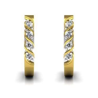 Ag Real Diamond Janvi Earrings_Agse0127y