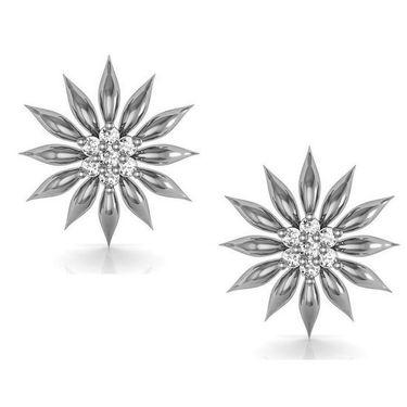 Avsar Real Gold and Swarovski Stone Maya Earrings_Ave025wb