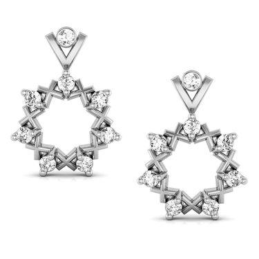 Avsar Real Gold and Swarovski Stone Aakansha Earrings_Ave036wb