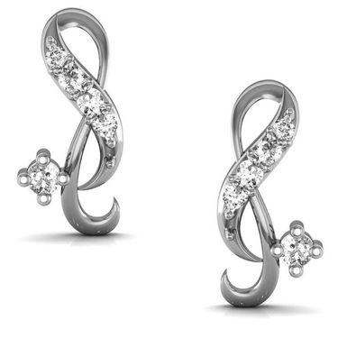 Avsar Real Gold and Swarovski Stone Karnataka Earrings_Ave0118wb