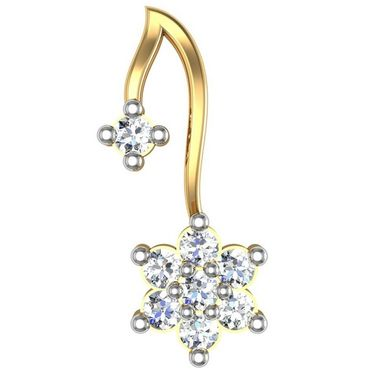 Avsar Real Gold and Swarovski Stone Pooja Earrings_Ave0154yb