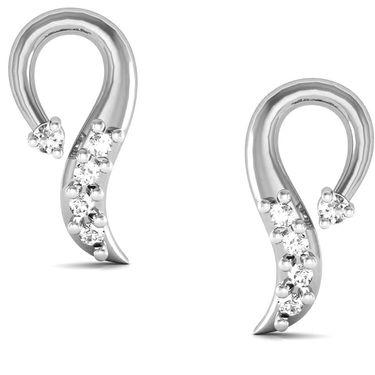 Avsar Real Gold and Swarovski Stone Aarohi Earrings_Bge024yb