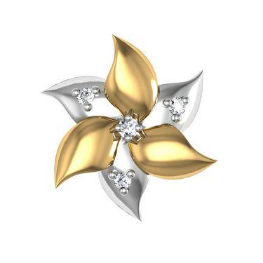 Avsar Real Gold and Swarovski Stone Prachi Earrings_Bge028yb