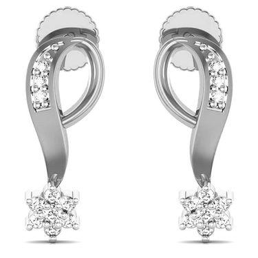 Avsar Real Gold and Swarovski Stone Jaipur Earrings_Bge062wb