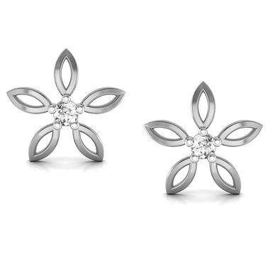 Avsar Real Gold and Swarovski Stone Devaki Earrings_Uqe017wb