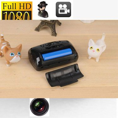 SPY MOTION ACTIVATED MINI CLOCK HIDDEN CAMERA WITH NIGHT VISION 1080P HD - CODE 331