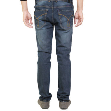 Branded Cotton Denim_Os23 - Greenish Blue