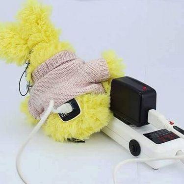 Go Hello Rabbit Shape Powerbank - Yellow