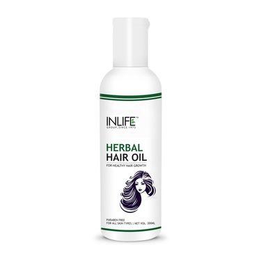 INLIFE Paraben Free Herbal Hair Oil 200 ml For Deep Nourishment