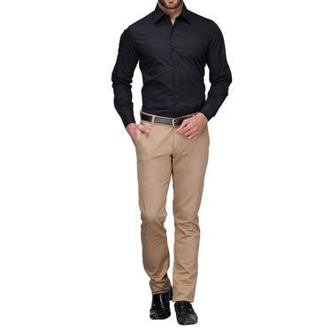 Full Sleeves Cotton Shirt_blksht - Black