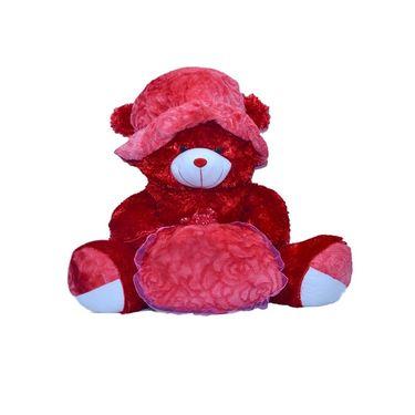 Kaku loveable Teddy with Cap& Loveble Heart_DKK-27 A