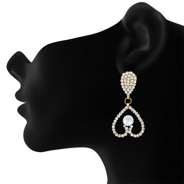 Branded Gold Plated Crystal Pendant Set_Nl2101051g