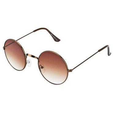 Mango People Metal Unisex Sunglasses_Mp10800br01 - Black & Brown