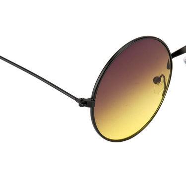 Mango People Metal Unisex Sunglasses_Mp10800yl - Black & Yellow