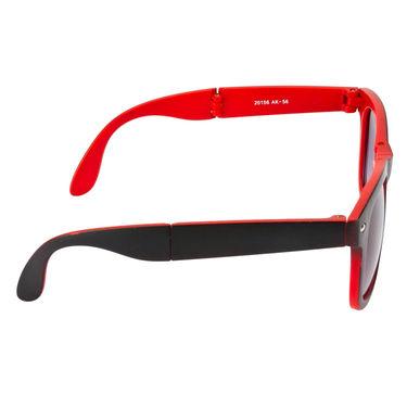 Mango People Plastic Unisex Sunglasses_Mp20156rd02 - Black