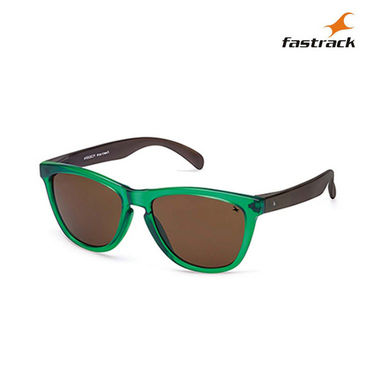 Fastrack 100% UV Protection Sunglasses For Women_Pc003br4  - Green & Black