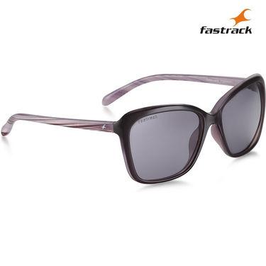 Fastrack Polarized Sunglasses For Women_P306bk2fp - Black