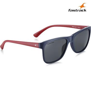 Fastrack 100% UV Protection Sunglasses For Men_P299bu1 - Black
