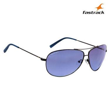 Fastrack 100% UV Protection Sunglasses For Men_M130bk1 - Purple